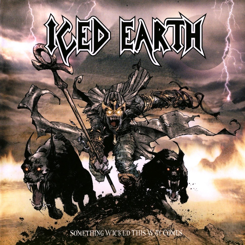 Iced Earth - Something Wicked This Way Comes (1998) Cover
