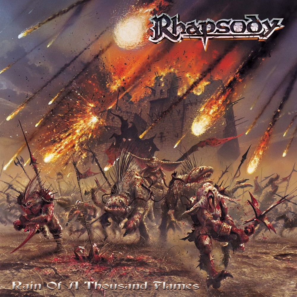 Rhapsody - Rain of a Thousand Flames (2001) Cover