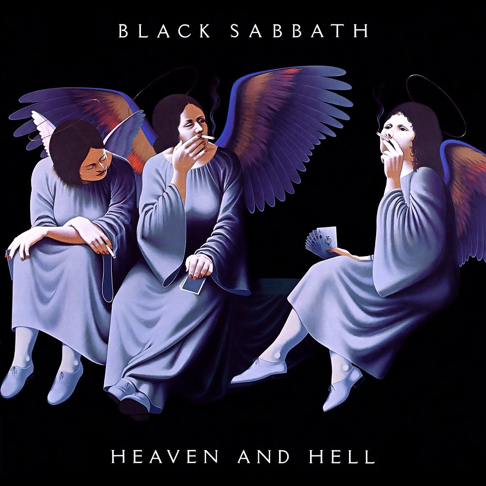 Black Sabbath - Heaven and Hell (1980) Cover