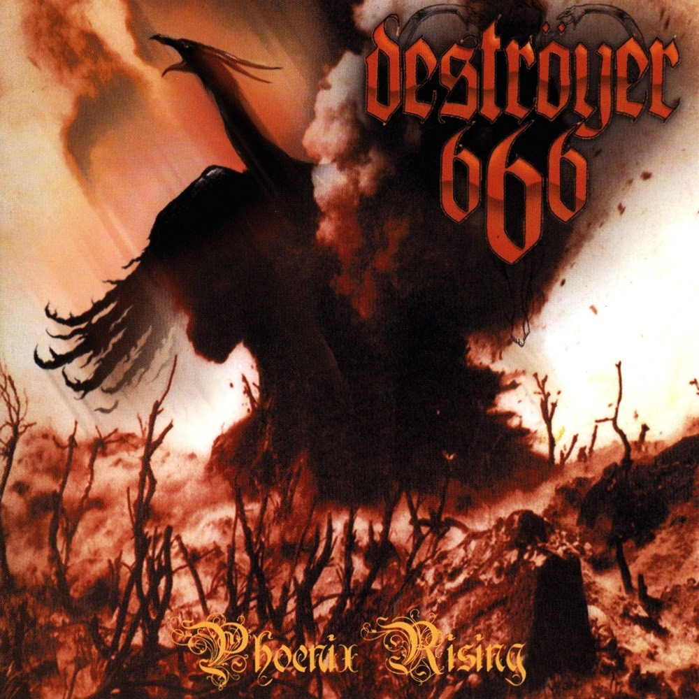 Deströyer 666 - Phoenix Rising (2000) Cover