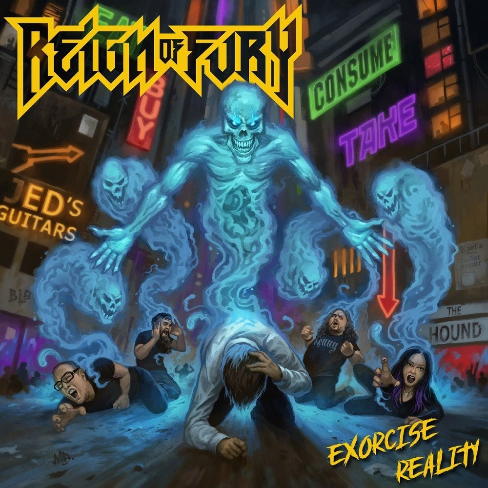Reign of Fury - Exorcise Reality (2019) Cover