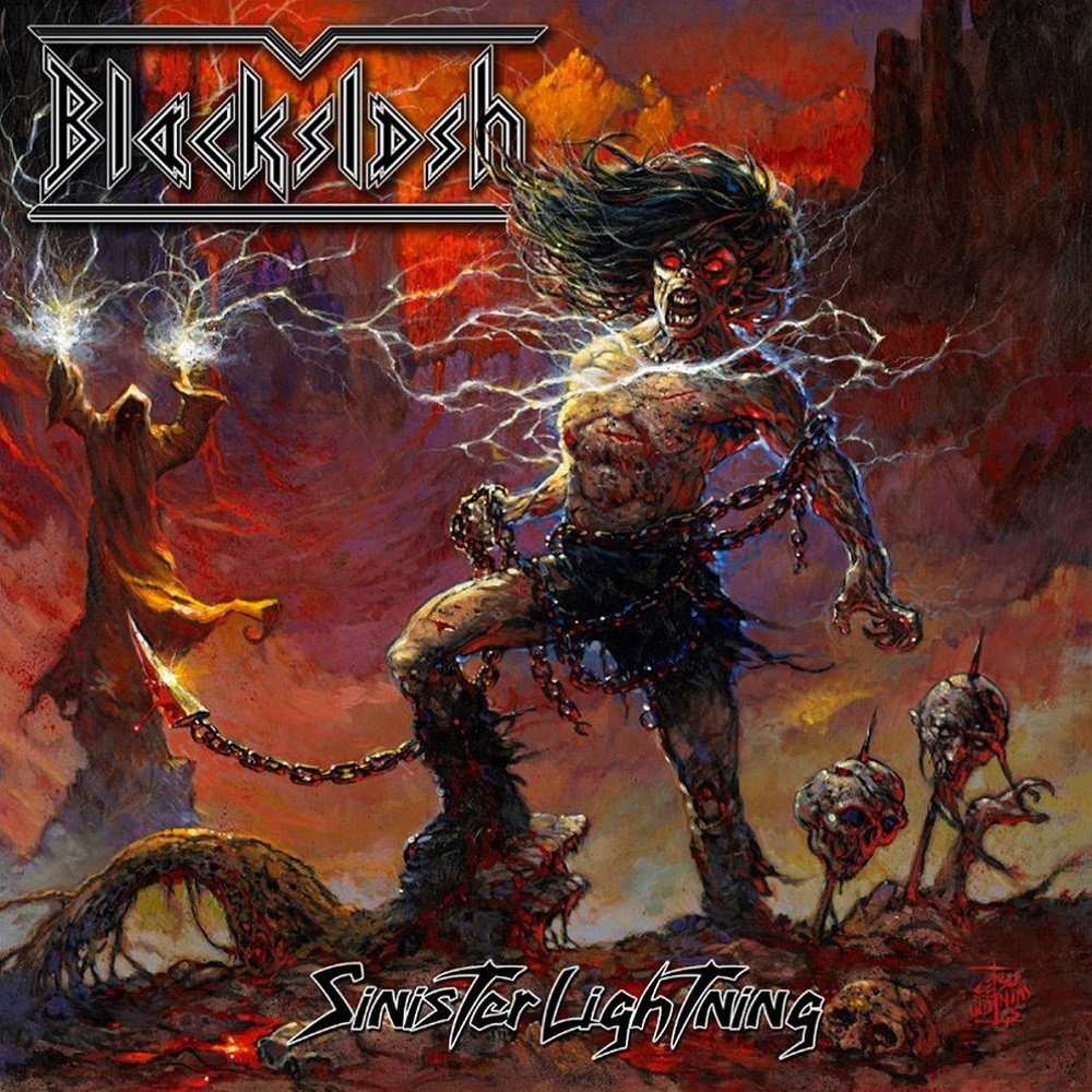 Blackslash - Sinister Lightning (2015) Cover