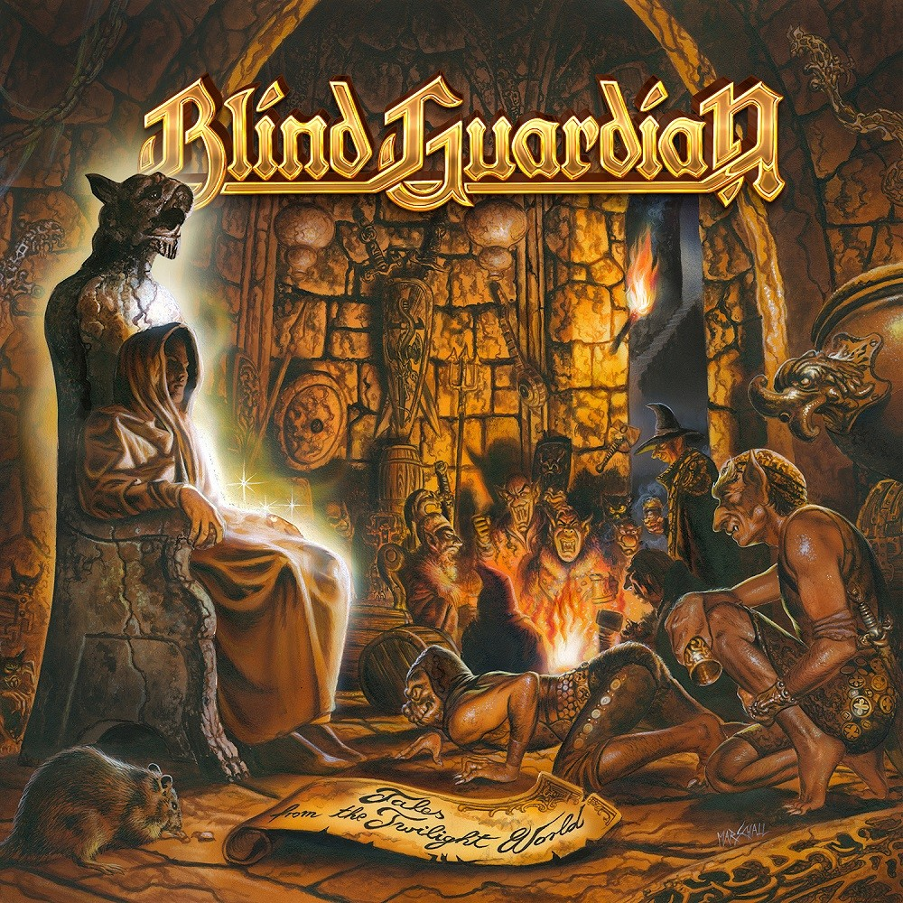 Blind Guardian - Tales From the Twilight World (1990) Cover