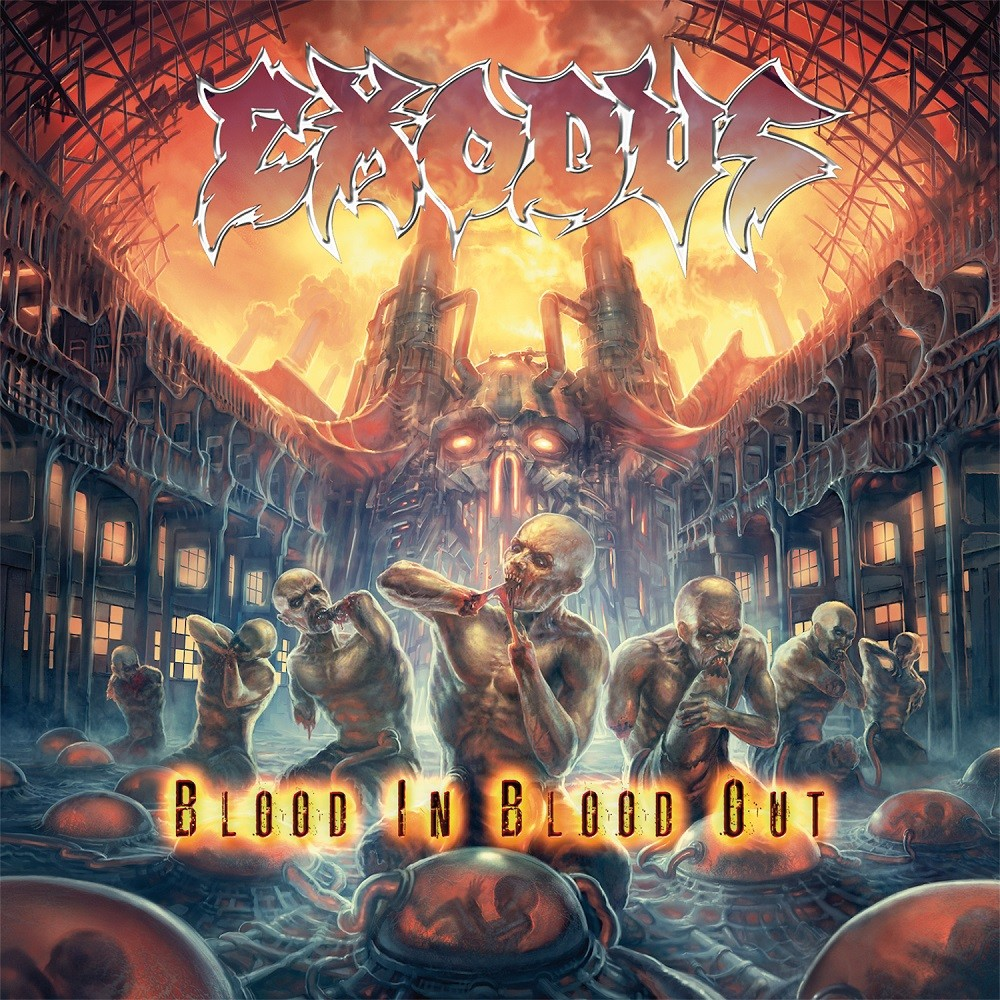 Exodus - Blood in Blood Out (2014) Cover