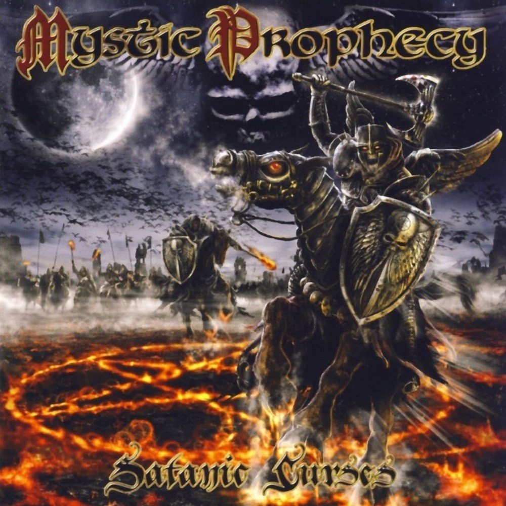 Mystic Prophecy - Satanic Curses (2007) Cover