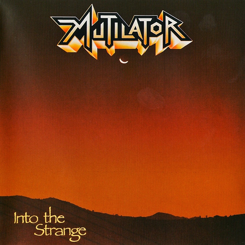 Mutilator - Into the Strange (1988) Cover