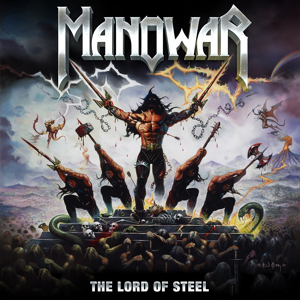 Manowar - The Lord of Steel (2012) Cover