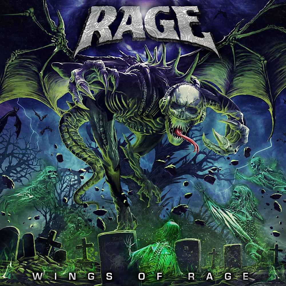 Rage - Wings of Rage (2020) Cover