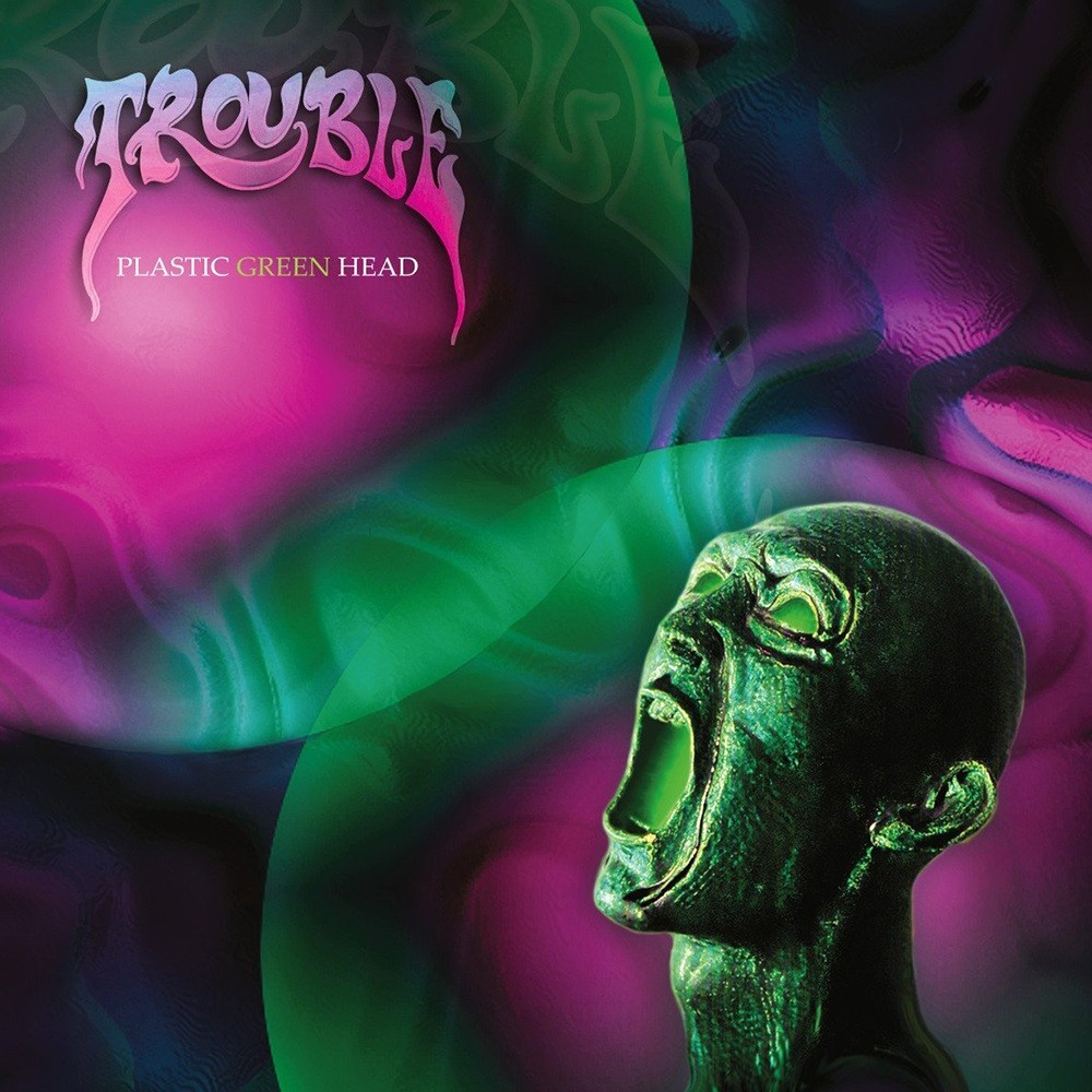 Trouble - Plastic Green Head (1995) Cover