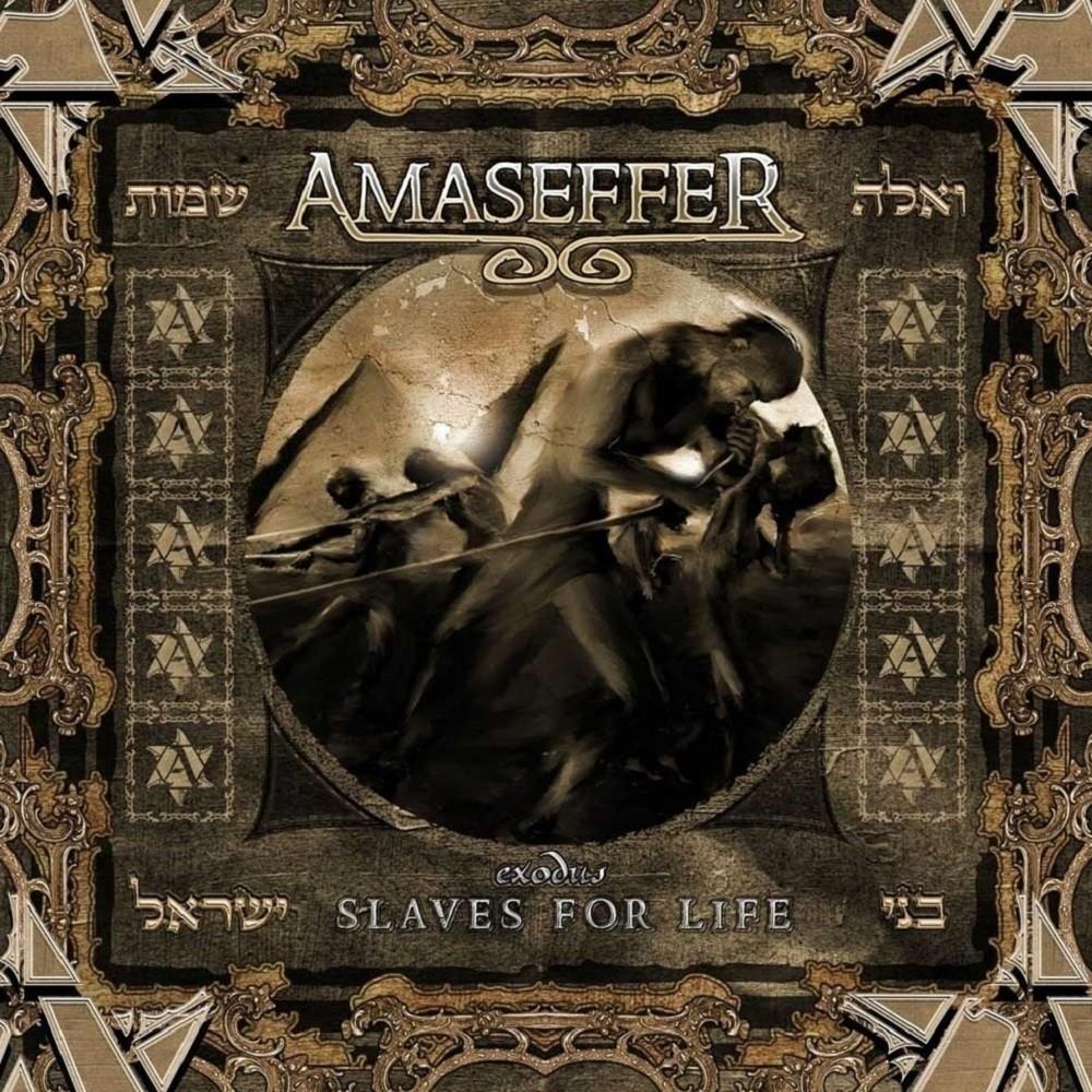 Amaseffer - Exodus: Slaves for Life (2008) Cover