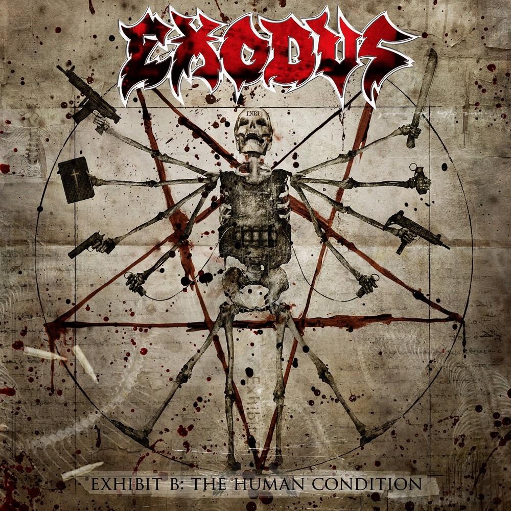 Exodus - Exhibit B: The Human Condition (2010) Cover