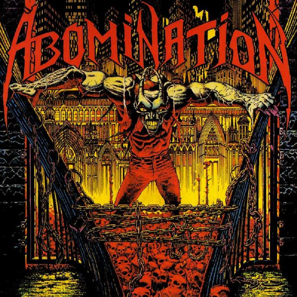 Abomination - Abomination (1990) Cover