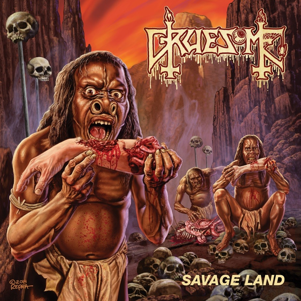 Gruesome - Savage Land (2015) Cover