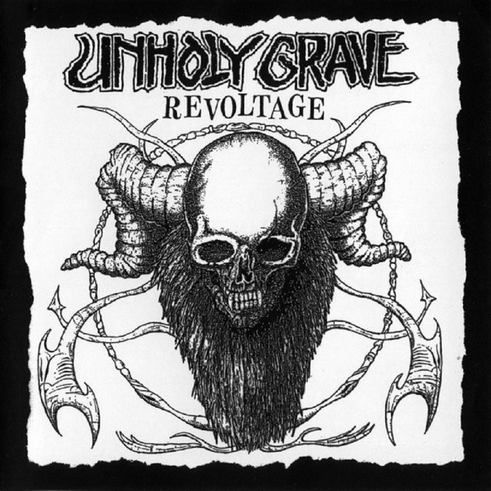 Unholy Grave - Revoltage (2007) Cover