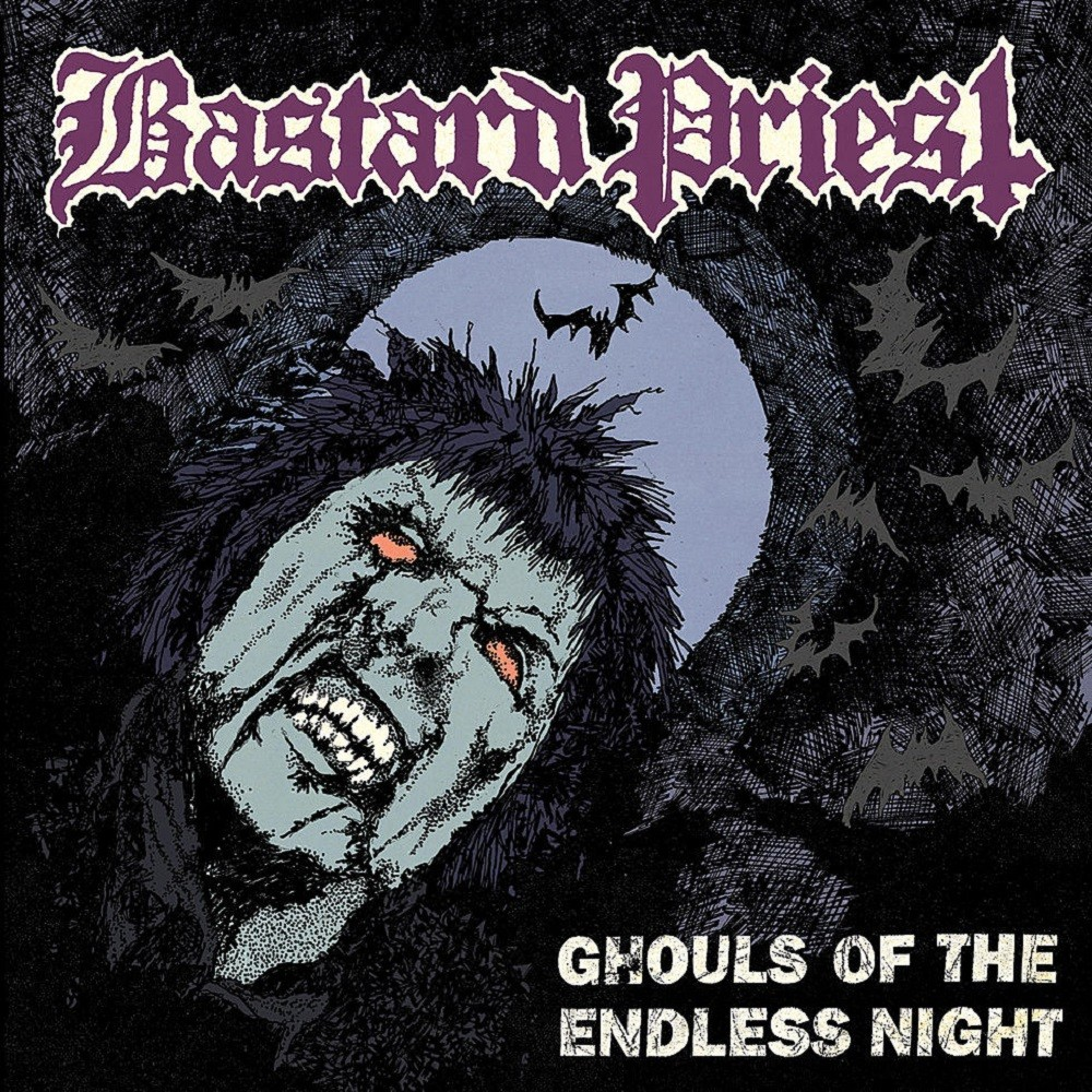 Bastard Priest - Ghouls of the Endless Night (2011) Cover