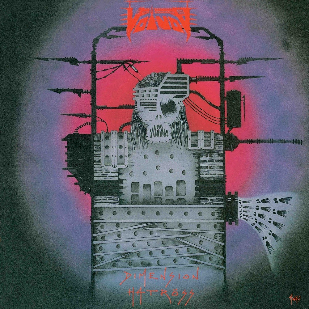 Voivod - Dimension Hatröss (1988) Cover