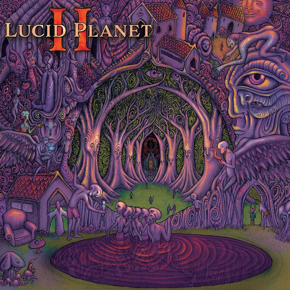 Lucid Planet - Lucid Planet II (2020) Cover