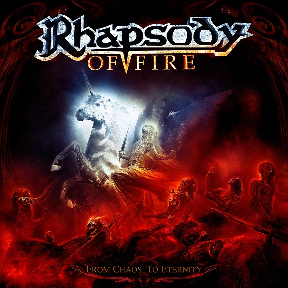 Rhapsody - From Chaos to Eternity (2011) Cover