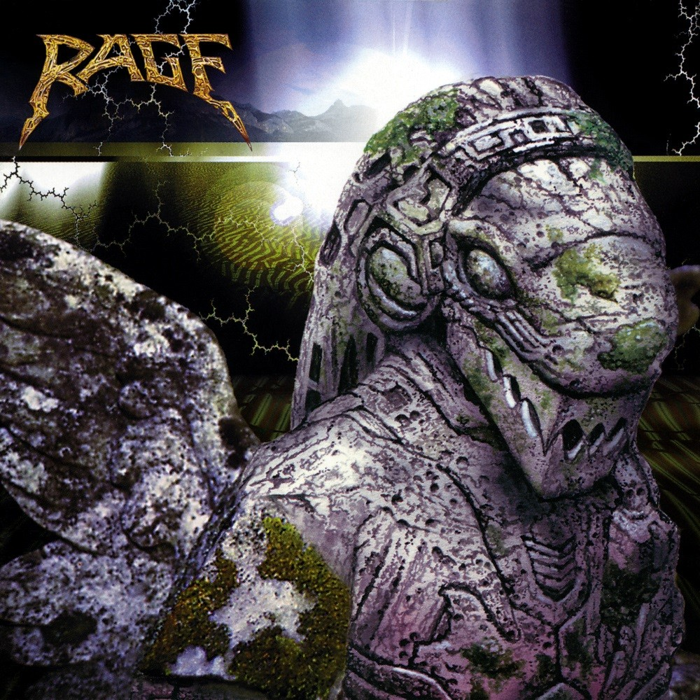 Rage - End of All Days (1996) Cover