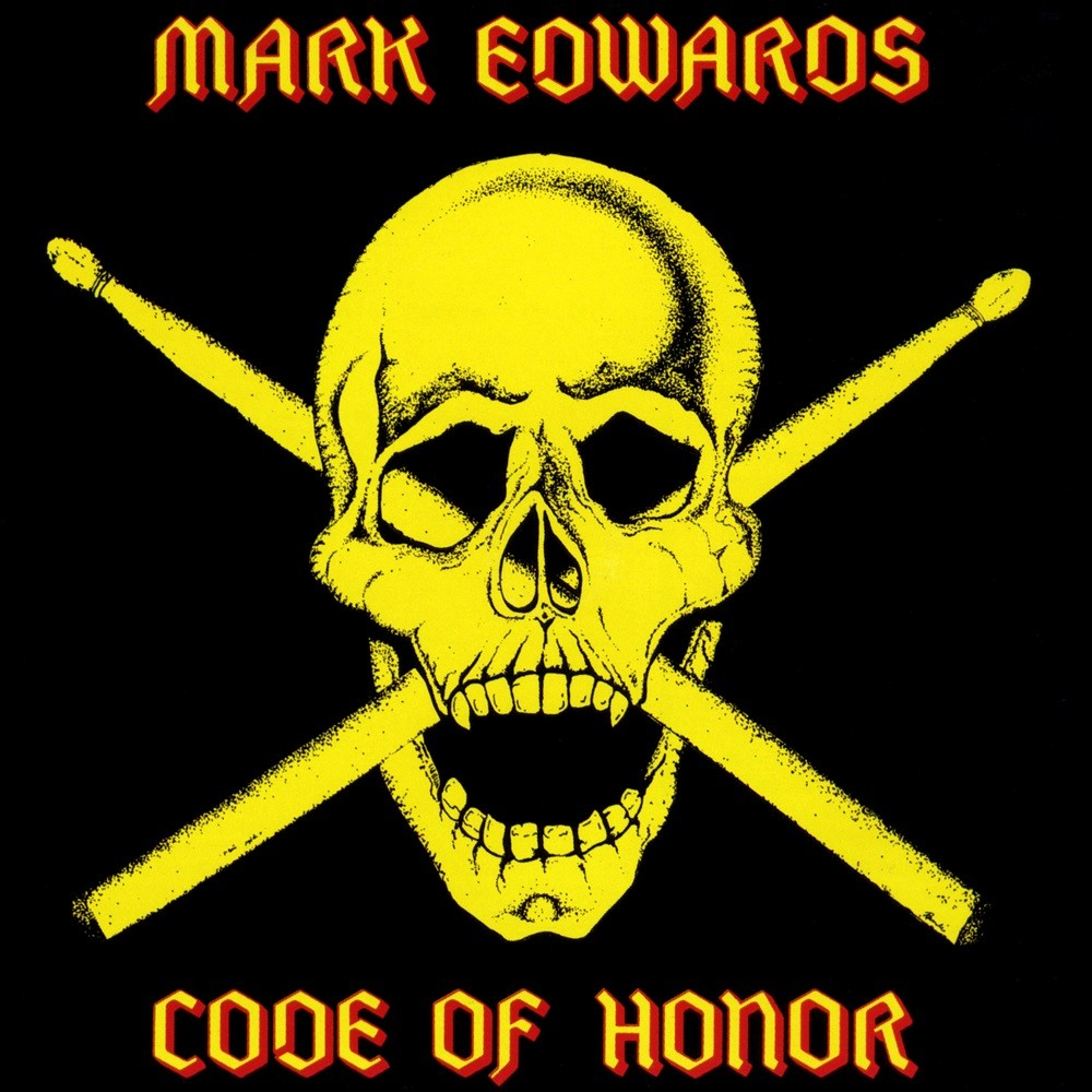 Mark Edwards - Code of Honor (1985) Cover