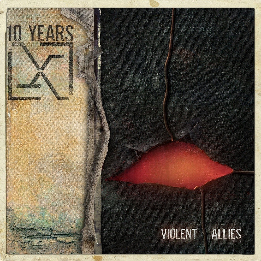 10 Years - Violent Allies (2020) Cover
