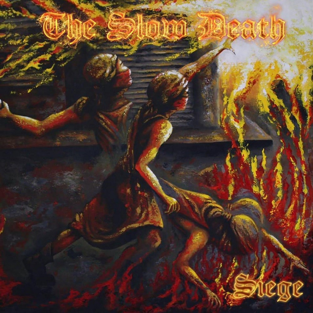 Slow Death, The - Siege (2021) Cover