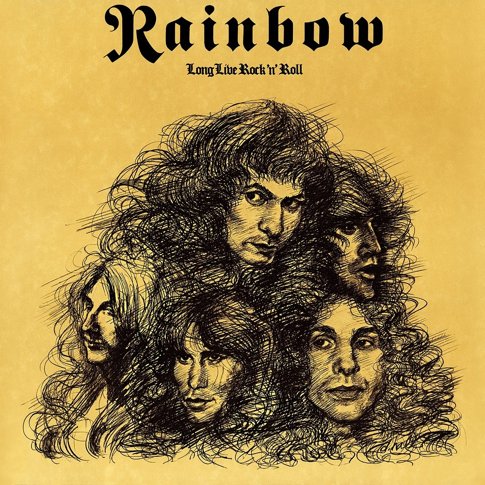 The Hall of Judgement: Rainbow - Long Live Rock 'n' Roll Cover