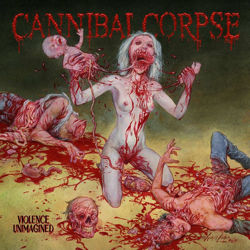 Cannibal Corpse - Violence Unimagined (2021) Cover