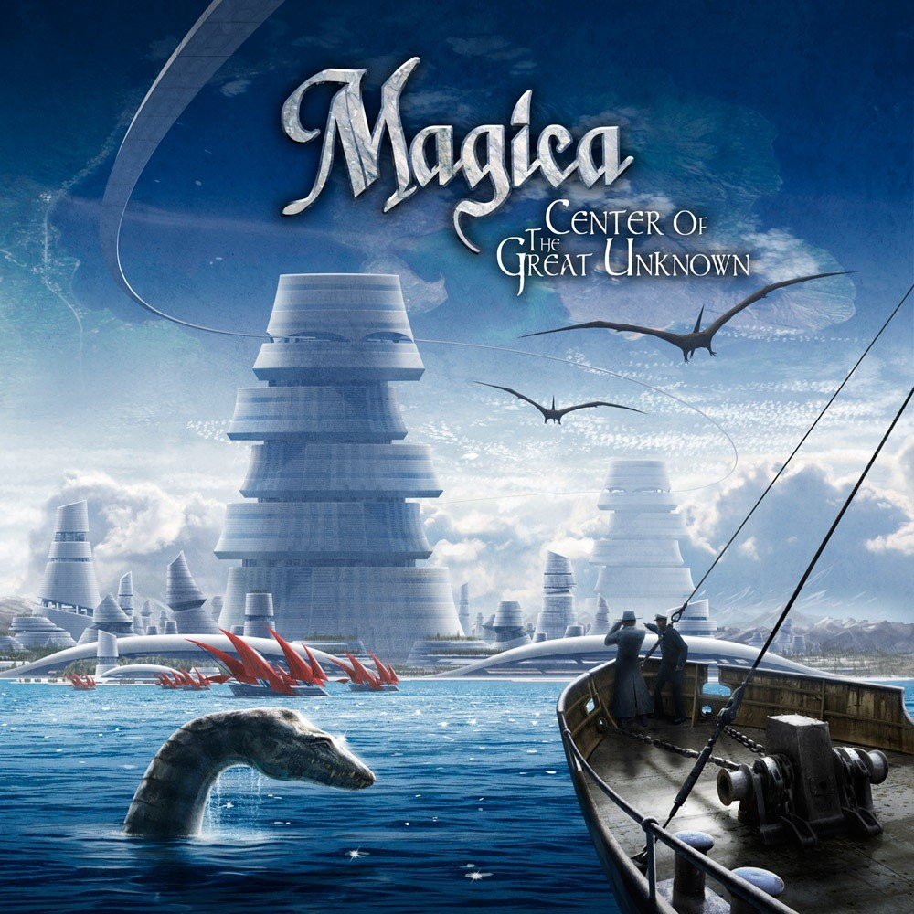 Magica - Center of the Great Unknown (2012) Cover
