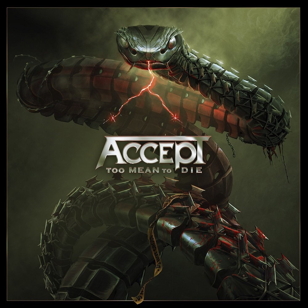 Accept - Too Mean to Die (2021) Cover