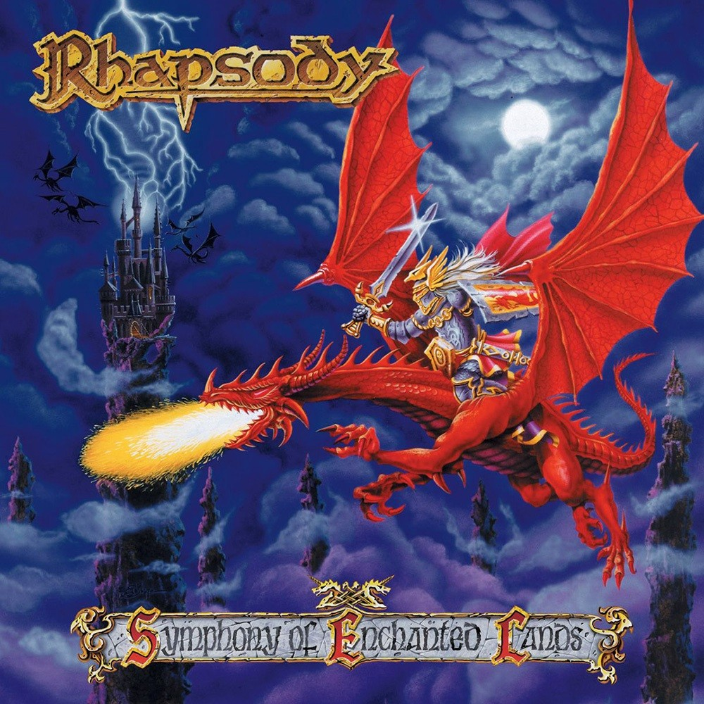 Rhapsody - Symphony of Enchanted Lands (1998) Cover