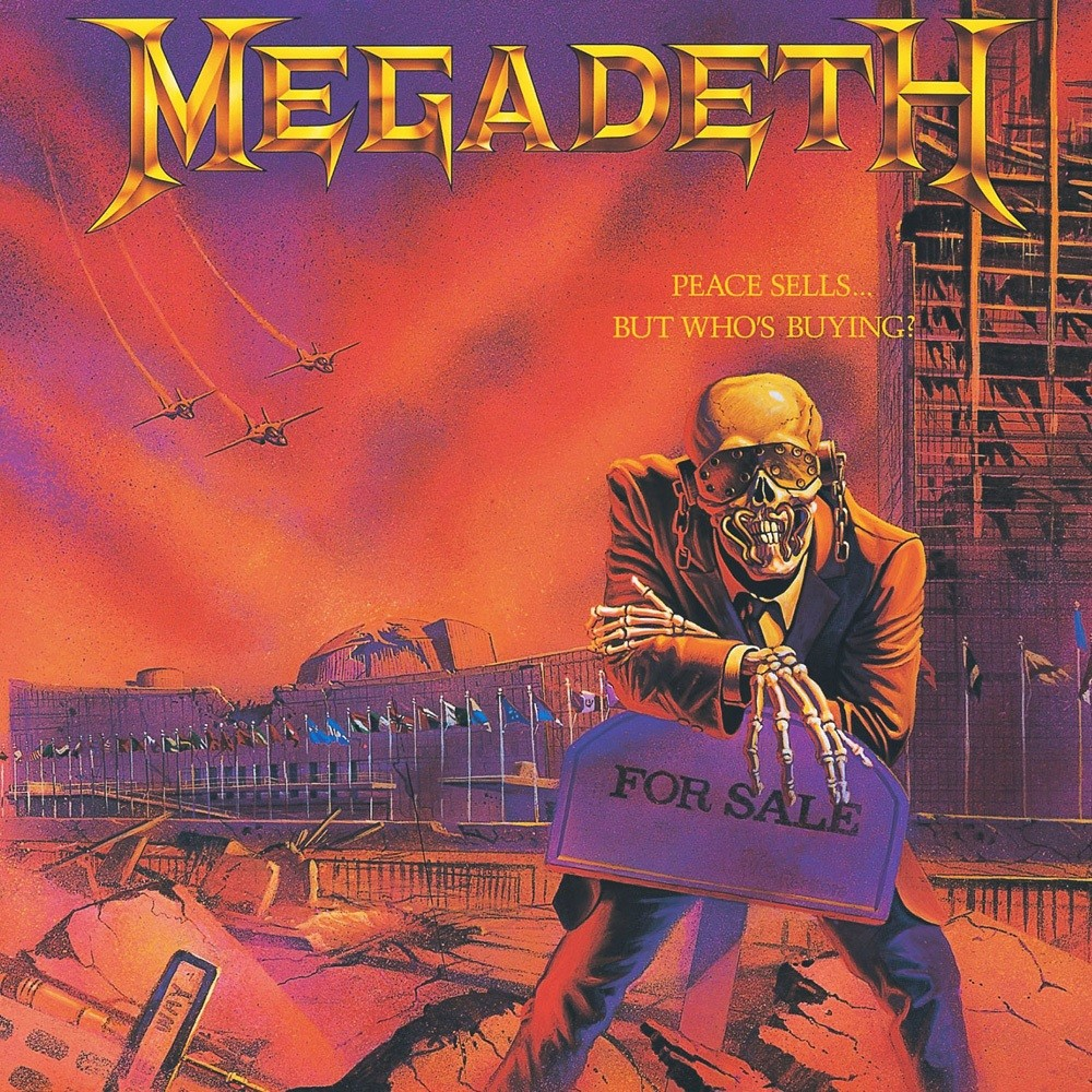 Megadeth - Peace Sells... But Who's Buying? (1986) Cover