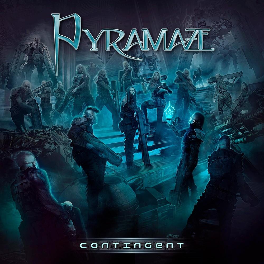 Pyramaze - Contingent (2017) Cover