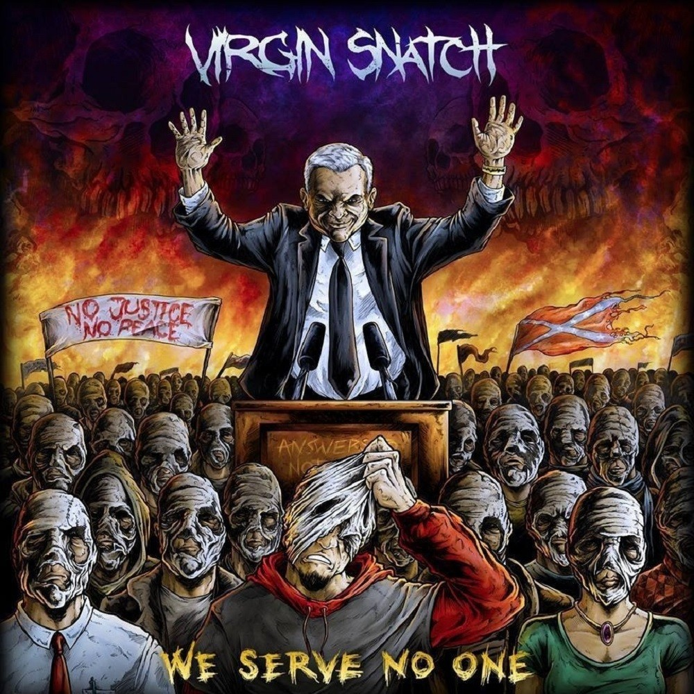 Virgin Snatch - We Serve No One (2014) Cover