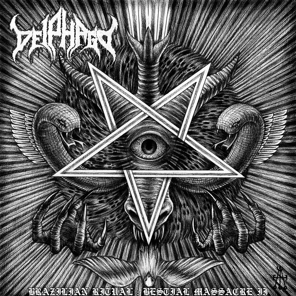 Deiphago - Brazilian Ritual: Bestial Massacre II (2017) Cover