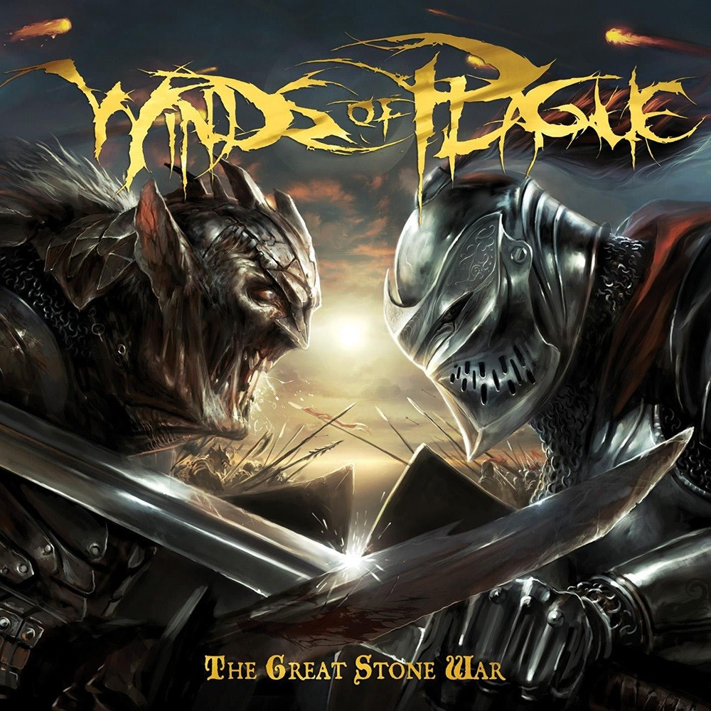 Winds of Plague - The Great Stone War (2009) Cover