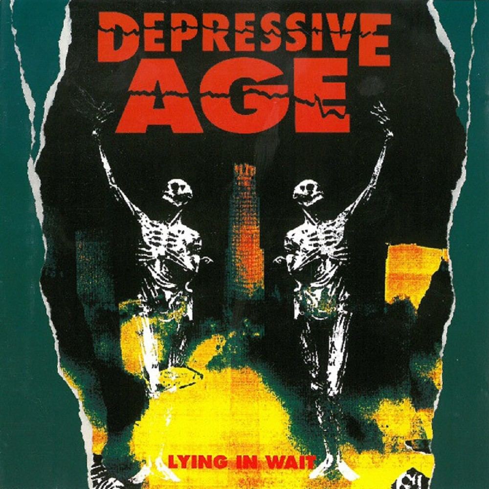 Depressive Age - Lying in Wait (1993) Cover