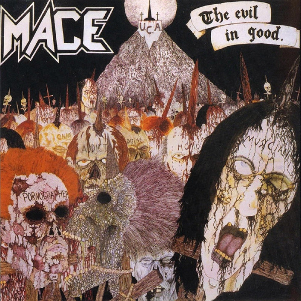 Mace - The Evil in Good (1987) Cover