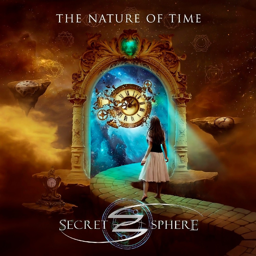 Secret Sphere - The Nature of Time (2017) Cover