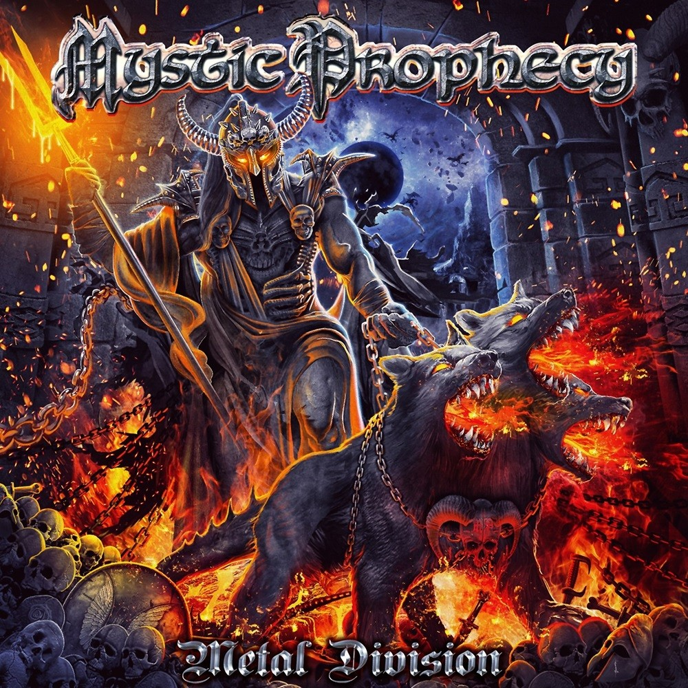 Mystic Prophecy - Metal Division (2020) Cover