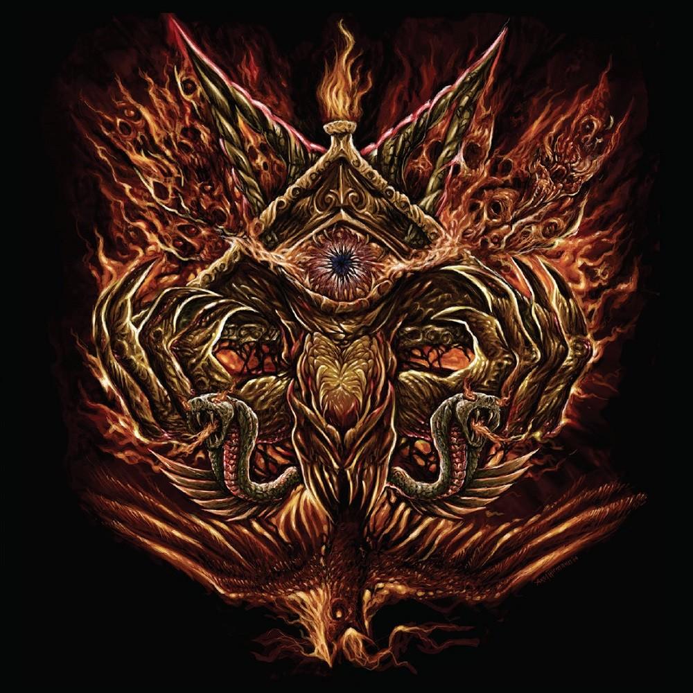 Deiphago - Into the Eye of Satan (2015) Cover