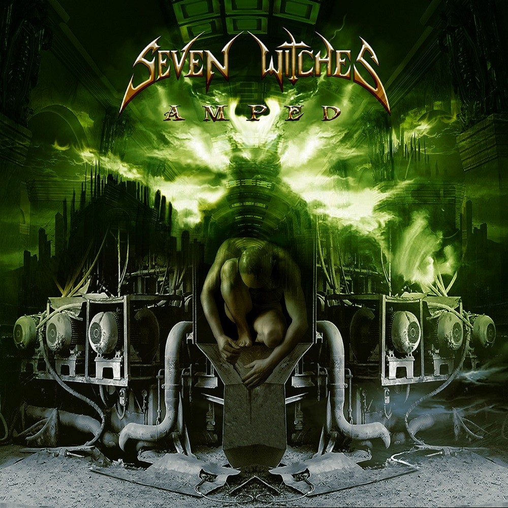 Seven Witches - Amped (2005) Cover