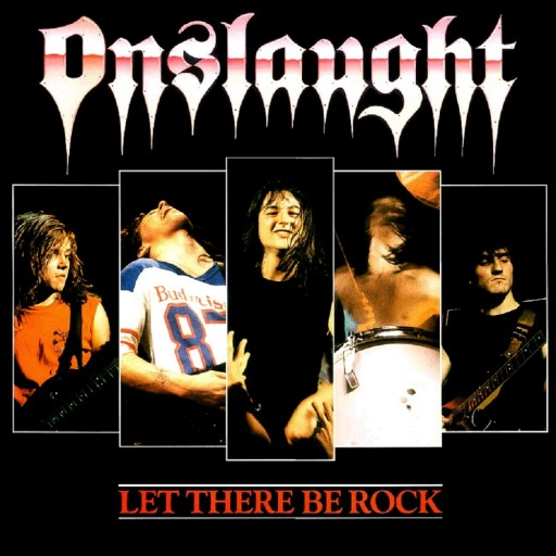 Onslaught - Let There Be Rock 1987