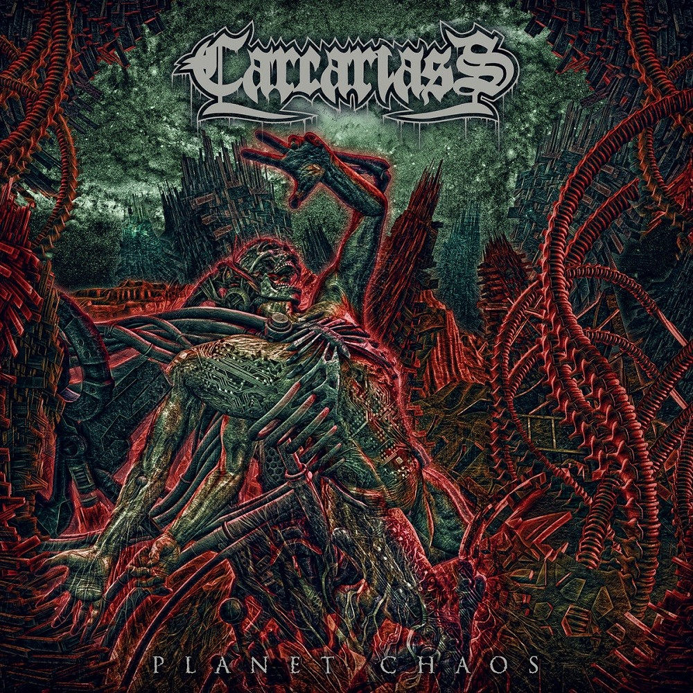 Carcariass - Planet Chaos (2019) Cover