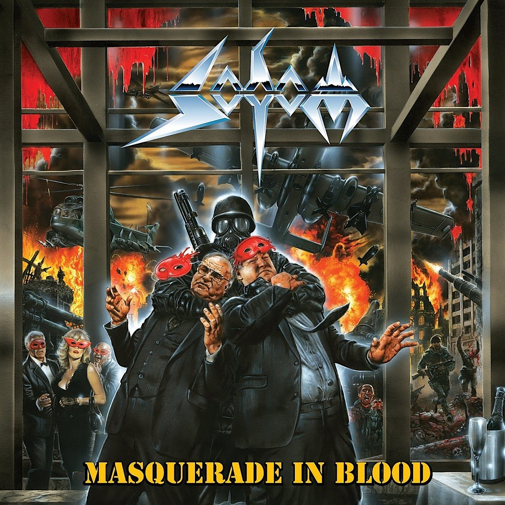 Sodom - Masquerade in Blood (1995) Cover