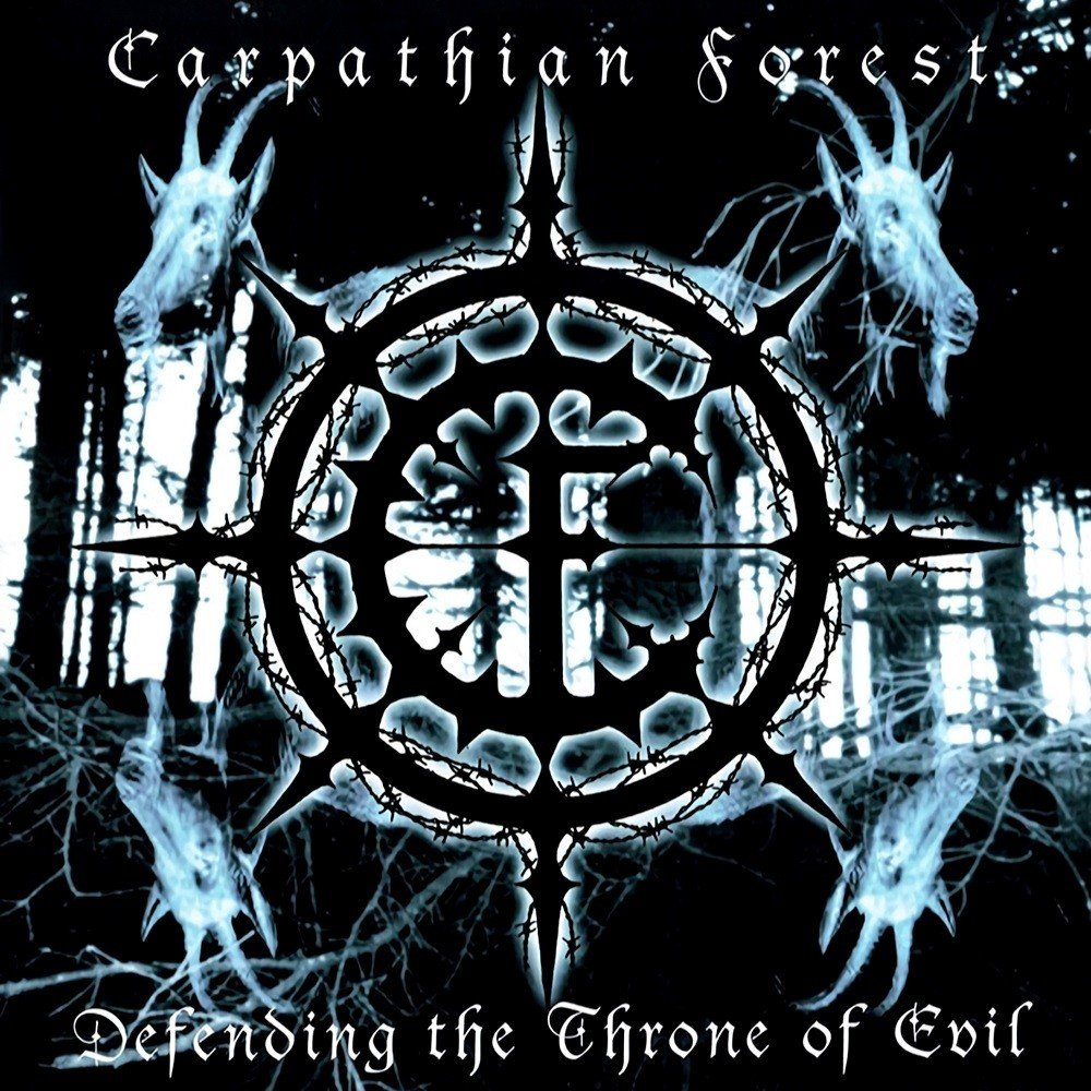 Carpathian Forest - Defending the Throne of Evil (2003) Cover