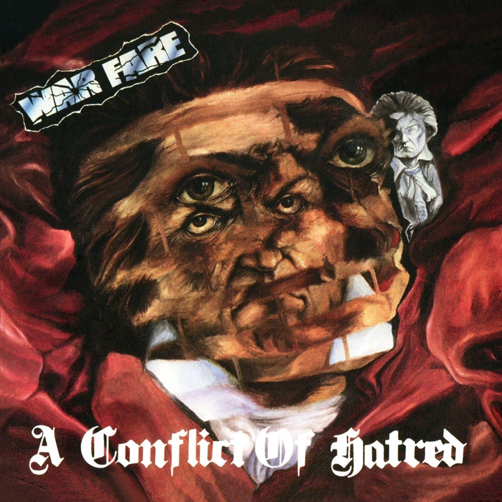 Warfare - A Conflict of Hatred (1988) Cover