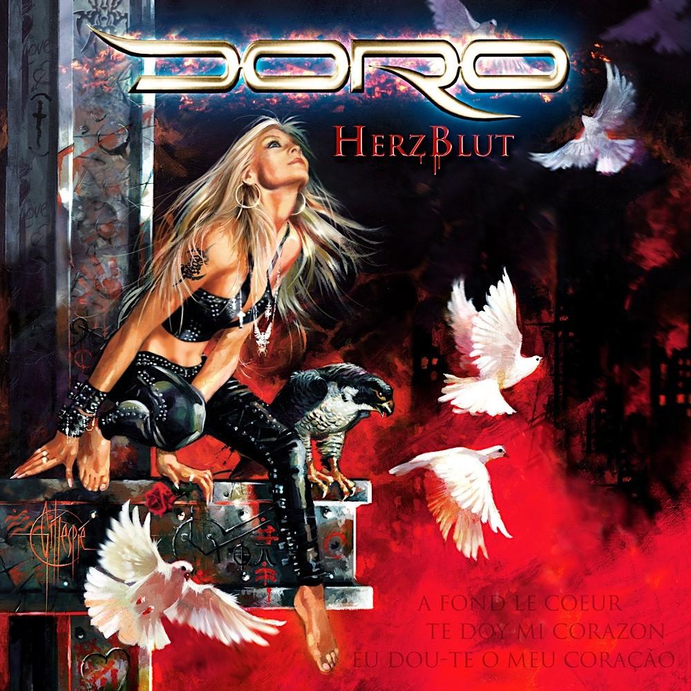 Doro - Herzblut (2008) Cover