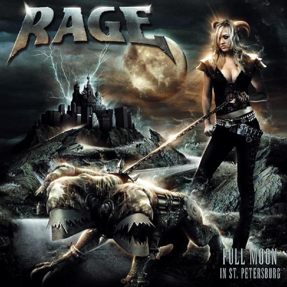Rage - Full Moon in St. Petersburg (2007) Cover