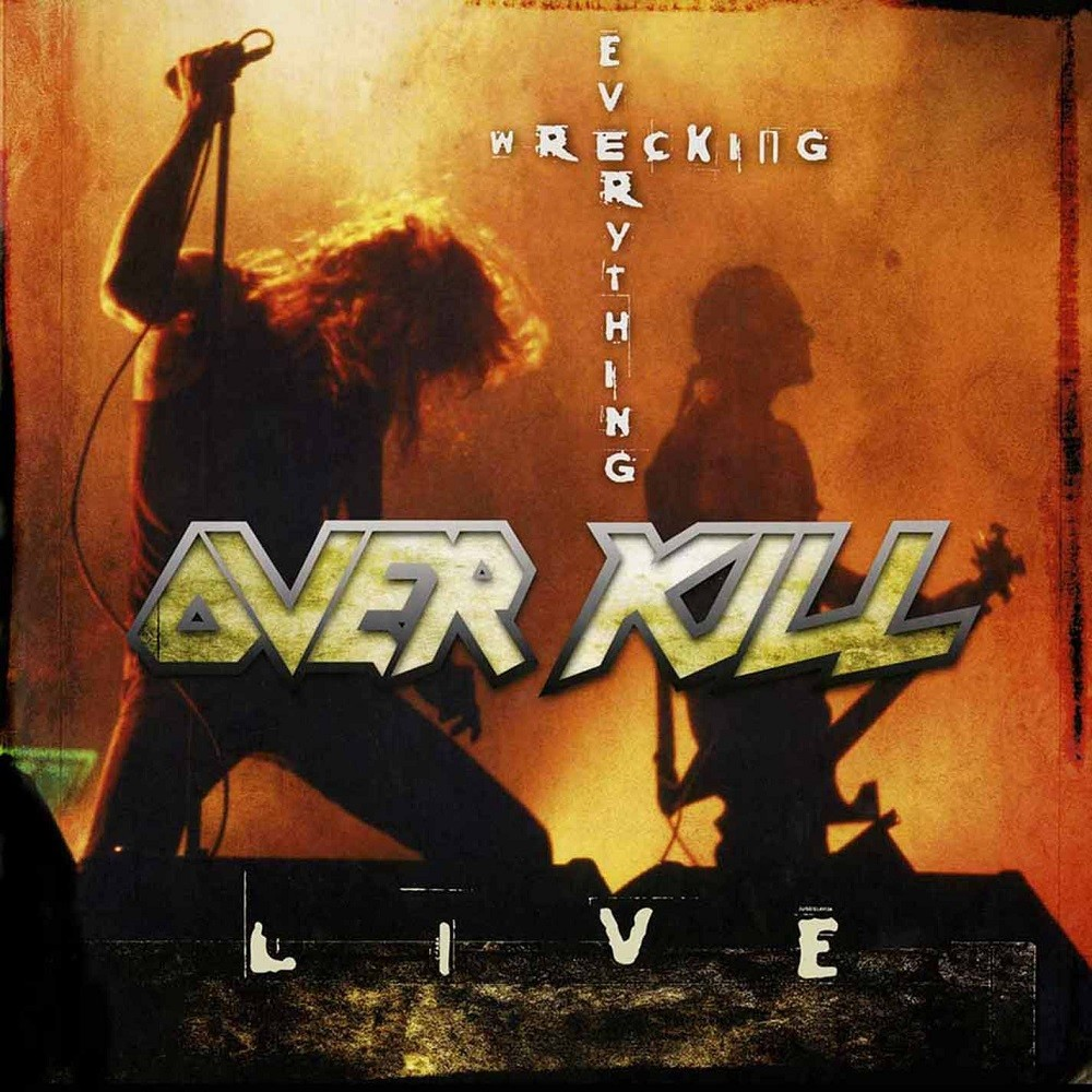 Overkill - Wrecking Everything: Live (2002) Cover